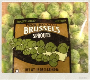 final brussels sprouts yay