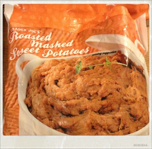 roasted mashed sweet potatoes trader joes edited